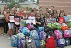 Sampson Students Fill 62 Backpacks for Cy-Hope